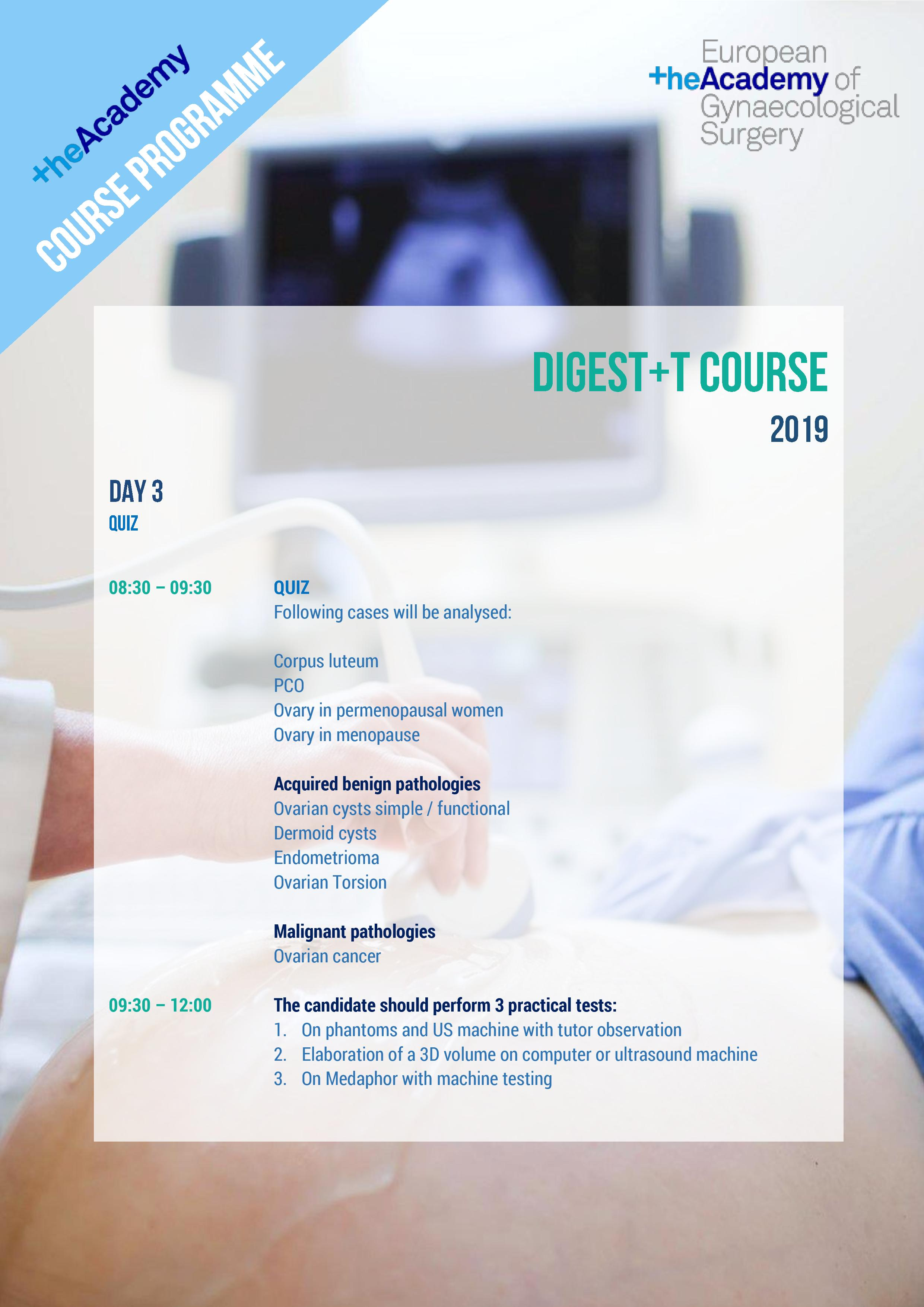 DIGEST+T DAY 3