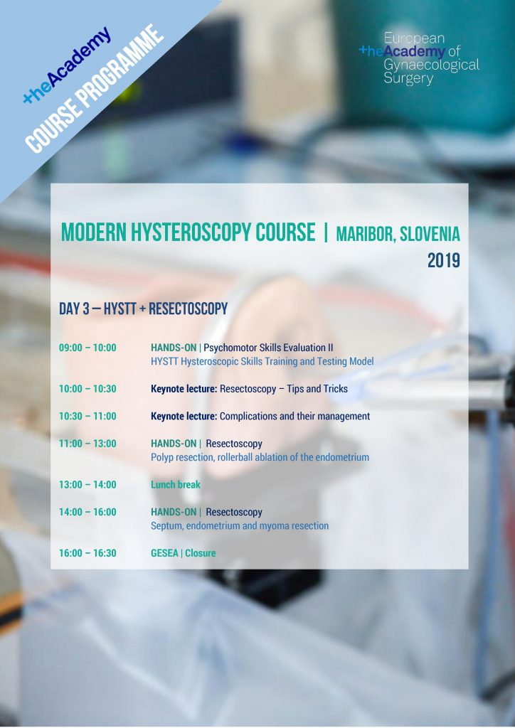 MODERN HYSTEROSCOPY Day 3